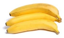 χορτοφάγο λευκό τροφίμων μπανανών ανασκόπησης στοκ φωτογραφίες