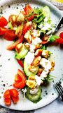 Χορτοφάγο πιάτο Στοκ φωτογραφία με δικαίωμα ελεύθερης χρήσης