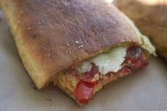 Χορτοφάγο πλακάκι Cunzatu στοκ εικόνες