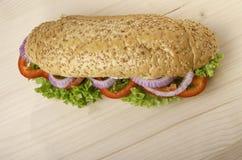 Χορτοφάγο σάντουιτς Στοκ Εικόνες