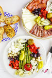 Χορτοφάγο antipasto Στοκ Φωτογραφίες