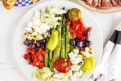 Χορτοφάγο antipasto Στοκ εικόνες με δικαίωμα ελεύθερης χρήσης