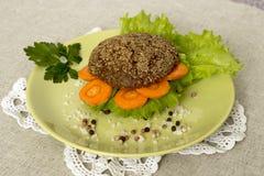 Χορτοφάγο burger Στοκ φωτογραφία με δικαίωμα ελεύθερης χρήσης