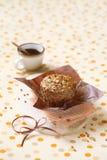 Χορτοφάγο Muffin μπανανών Στοκ εικόνες με δικαίωμα ελεύθερης χρήσης