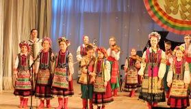 χορωδία s παιδιών Στοκ Φωτογραφία