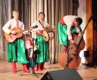 χορωδία s παιδιών Στοκ εικόνα με δικαίωμα ελεύθερης χρήσης