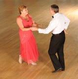 Χορός αιθουσών χορού ζεύγους Στοκ Εικόνες