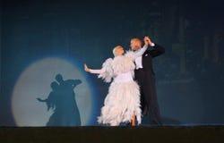 χορός αιθουσών χορού Στοκ φωτογραφία με δικαίωμα ελεύθερης χρήσης