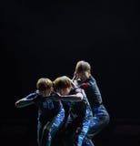 Χορός ανιχνεύω-πανεπιστημιουπόλεων Στοκ Εικόνα