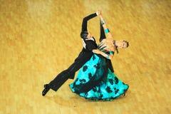 χορός ανταγωνισμού αιθουσών χορού Στοκ φωτογραφία με δικαίωμα ελεύθερης χρήσης