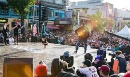 Χορός β-αγοριών στοκ φωτογραφία με δικαίωμα ελεύθερης χρήσης