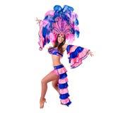 Χορός γυναικών χορευτών καρναβαλιού Στοκ φωτογραφίες με δικαίωμα ελεύθερης χρήσης