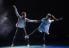 Χορός εραστής-πανεπιστημιουπόλεων πανεπιστημιουπόλεων Στοκ εικόνα με δικαίωμα ελεύθερης χρήσης