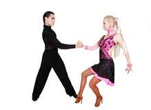 χορός ζευγών λατίνος στοκ εικόνες