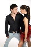 χορός ζευγών στοκ εικόνα με δικαίωμα ελεύθερης χρήσης