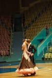 Χορός ζεύγους Στοκ Φωτογραφία