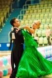 Χορός ζεύγους Στοκ Εικόνα