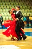 Χορός ζεύγους Στοκ Εικόνες