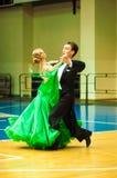 Χορός ζεύγους Στοκ εικόνα με δικαίωμα ελεύθερης χρήσης