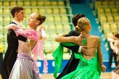 Χορός ζεύγους Στοκ φωτογραφία με δικαίωμα ελεύθερης χρήσης