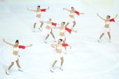 Χορός ισορροπίας ομάδας Στοκ φωτογραφίες με δικαίωμα ελεύθερης χρήσης