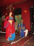 Χορός κοιλιών κεριών στοκ εικόνες με δικαίωμα ελεύθερης χρήσης