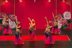Χορός κοιλιών στοκ εικόνα με δικαίωμα ελεύθερης χρήσης