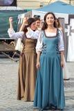 Χορός κοριτσιών Στοκ Φωτογραφία
