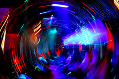 Χορός λεσχών νύχτας Disco Στοκ Φωτογραφίες