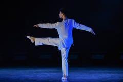 Χορός μπαλέτο-πανεπιστημιουπόλεων ατόμων Στοκ Εικόνες