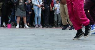 Χορός οδών χιπ χοπ απόθεμα βίντεο