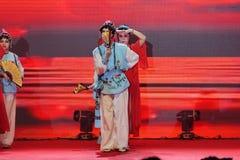 Χορός οπερών εισηγητή facebook-Πεκίνο Στοκ Φωτογραφία