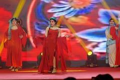 Χορός οπερών εισηγητή facebook-Πεκίνο Στοκ Εικόνες