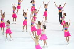 Χορός πάθους ομάδας Στοκ Εικόνες