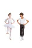 χορός παιδιών διαφυλετι&ka Στοκ Φωτογραφία