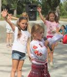 Χορός παιδιών Στοκ Φωτογραφίες