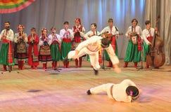 Χορός παιδιών Στοκ φωτογραφία με δικαίωμα ελεύθερης χρήσης