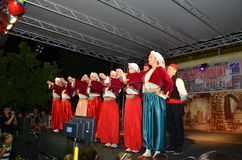 χορός παραδοσιακός Στοκ Εικόνες
