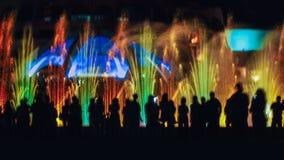 Χορός πηγών Στοκ Φωτογραφίες