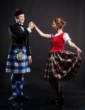 χορός σκωτσέζικα στοκ εικόνες