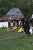 Χορός στα παραδοσιακά ενδύματα Flores Ινδονησία Στοκ εικόνες με δικαίωμα ελεύθερης χρήσης