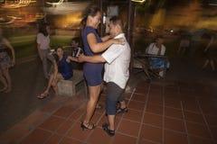 Χορός στην οδό Στοκ εικόνα με δικαίωμα ελεύθερης χρήσης