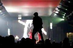 Χορός στη λέσχη νύχτας στοκ φωτογραφίες