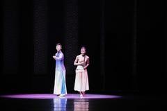 Χορός στη σεληνόφωτο-δεύτερη πράξη των γεγονότων δράμα-Shawan χορού του παρελθόντος Στοκ εικόνες με δικαίωμα ελεύθερης χρήσης