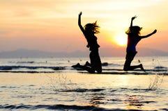 Χορός στον ήλιο στοκ εικόνες