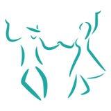Χορός ταλάντευσης Στοκ Φωτογραφίες