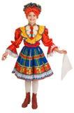 χορός τα εθνικά ρωσικά Στοκ Εικόνες