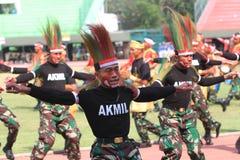 Χορός της Παπούας στοκ φωτογραφίες με δικαίωμα ελεύθερης χρήσης