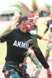 Χορός της Παπούας στοκ εικόνα