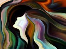 Χορός του εσωτερικού χρώματος διανυσματική απεικόνιση